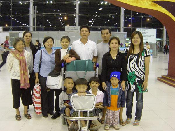 Suvarnabhumi Airport.